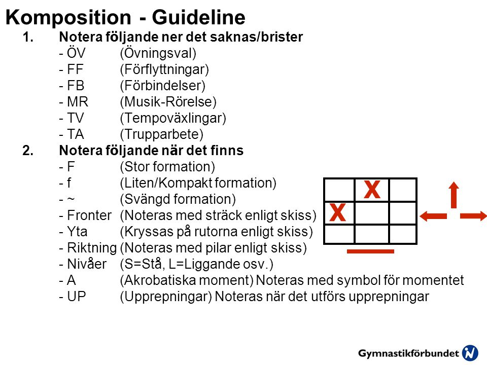 Komposition - Guideline