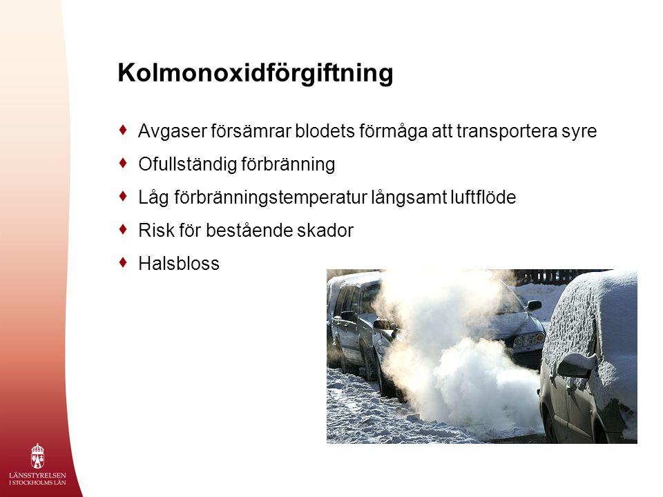 Kolmonoxidförgiftning