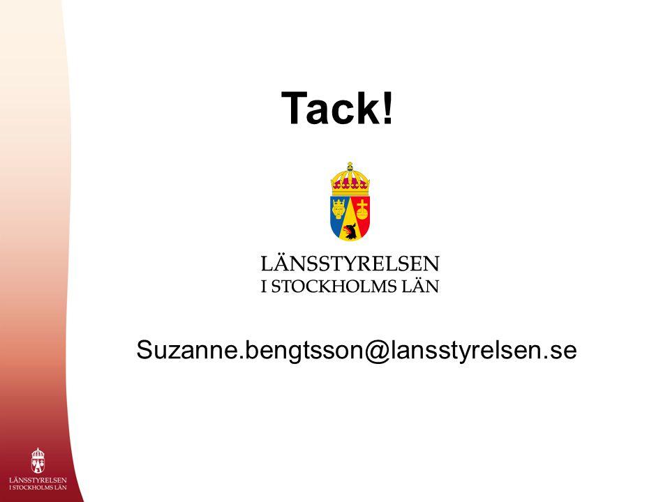 Tack! Suzanne.bengtsson@lansstyrelsen.se
