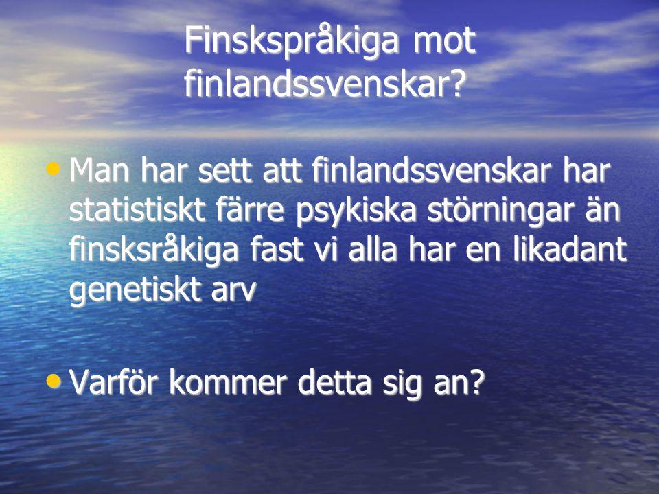 Finskspråkiga mot finlandssvenskar