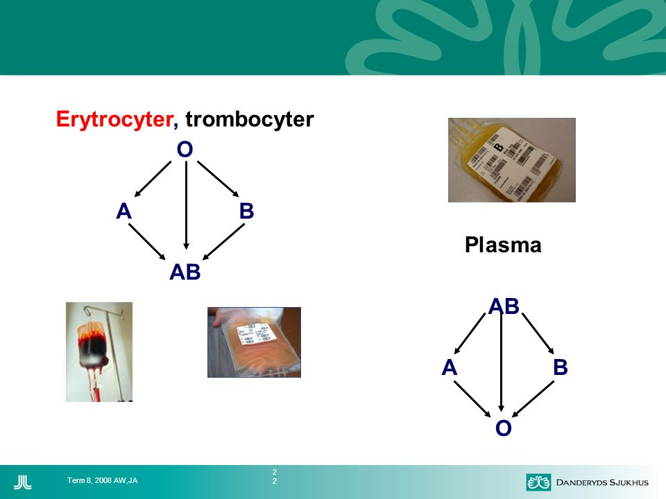 Erytrocyter, trombocyter