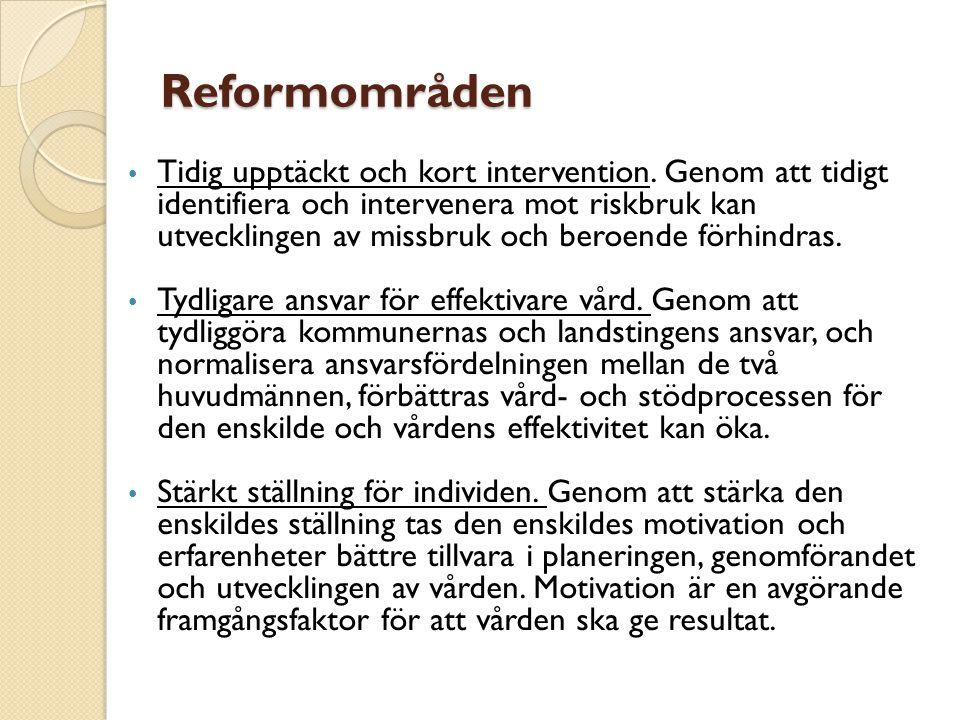 Reformområden