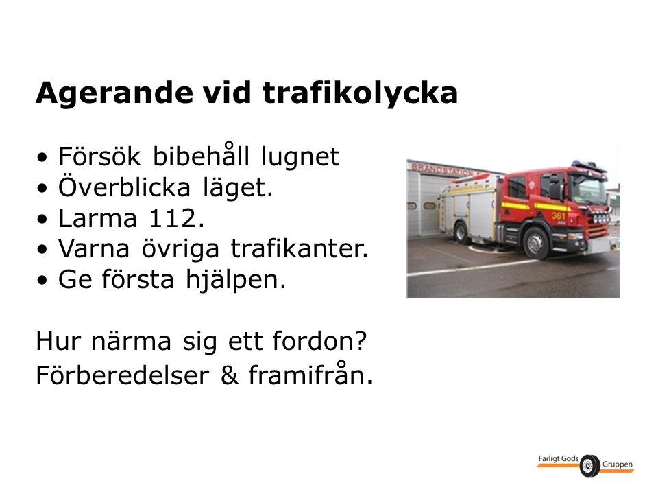 Agerande vid trafikolycka