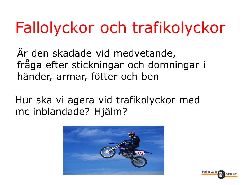 Fallolyckor och trafikolyckor