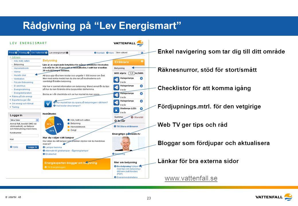 Rådgivning på Lev Energismart