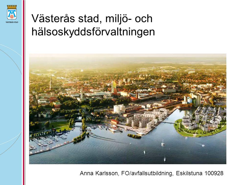 Västerås stad, miljö- och hälsoskyddsförvaltningen