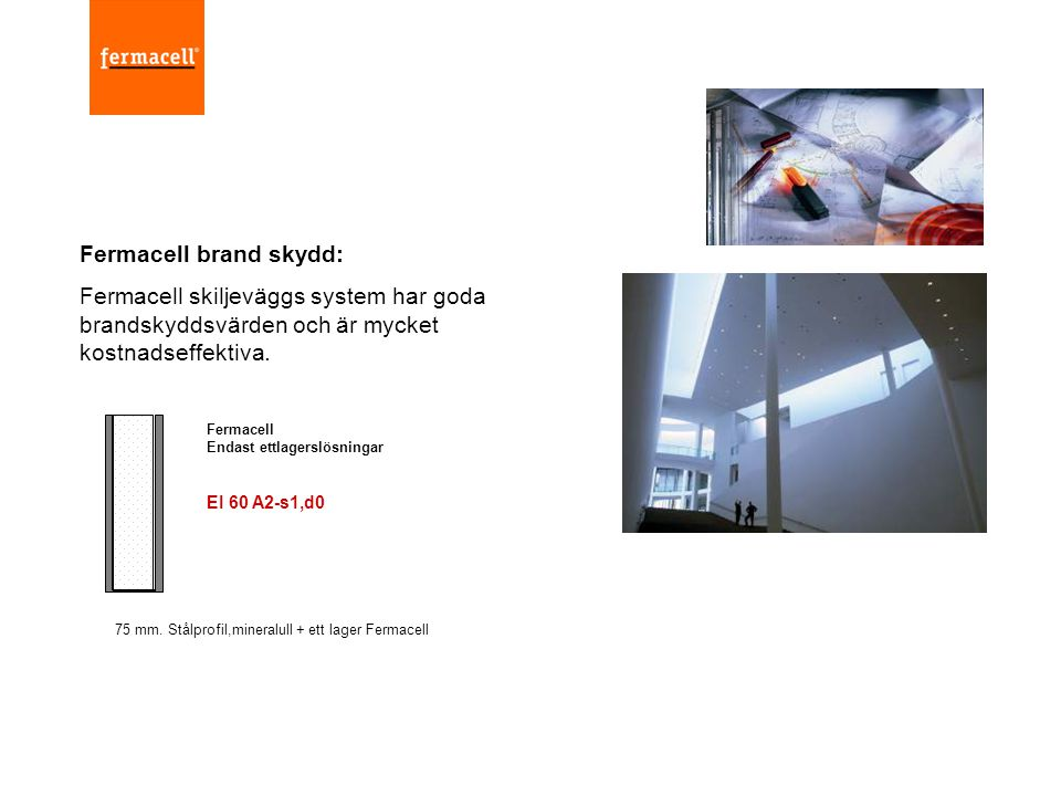 Fermacell brand skydd: