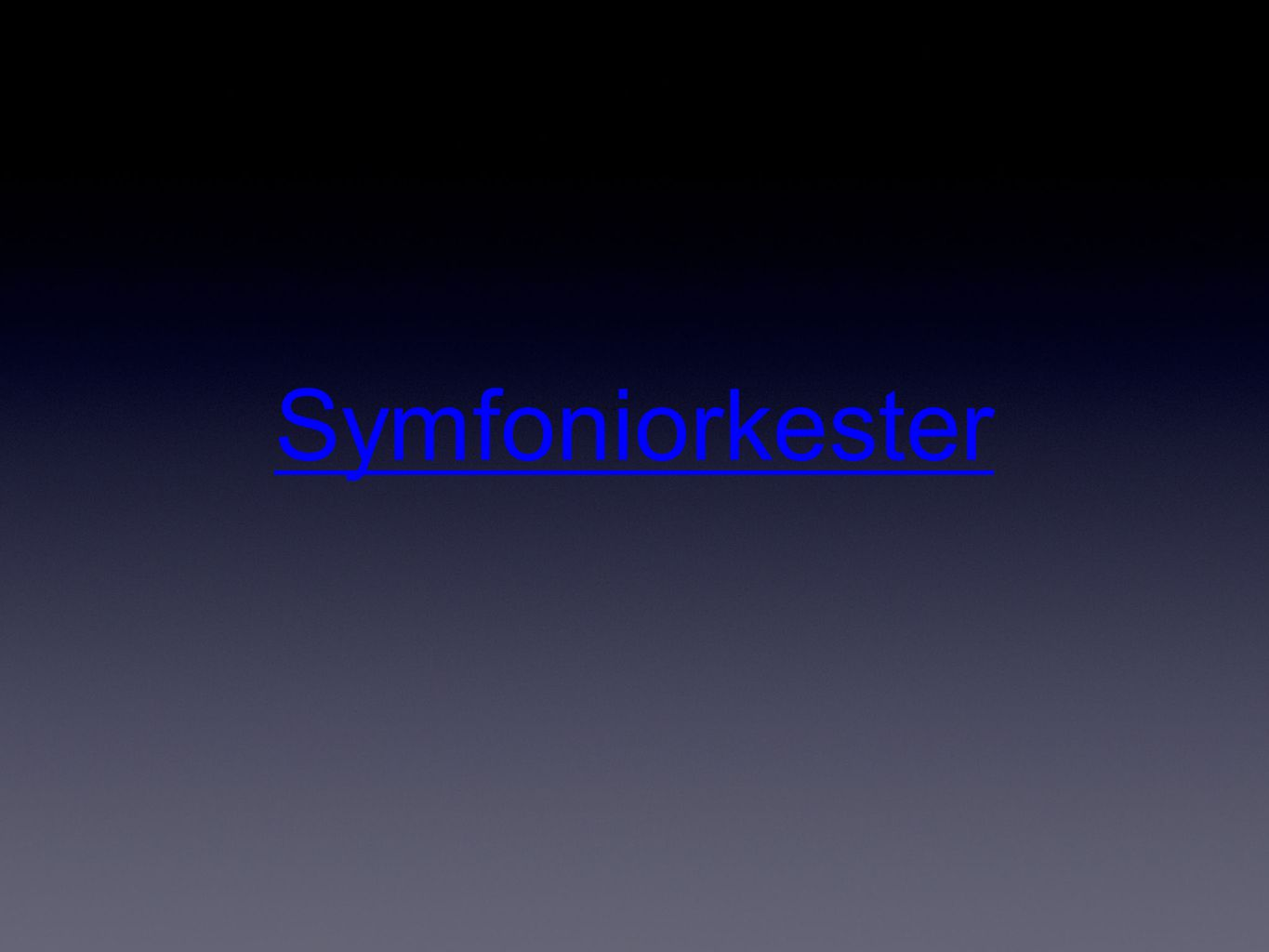 Symfoniorkester