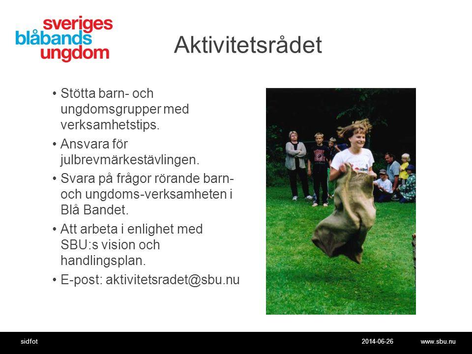 Aktivitetsrådet Stötta barn- och ungdomsgrupper med verksamhetstips.