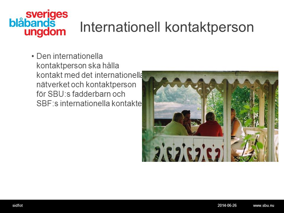 Internationell kontaktperson