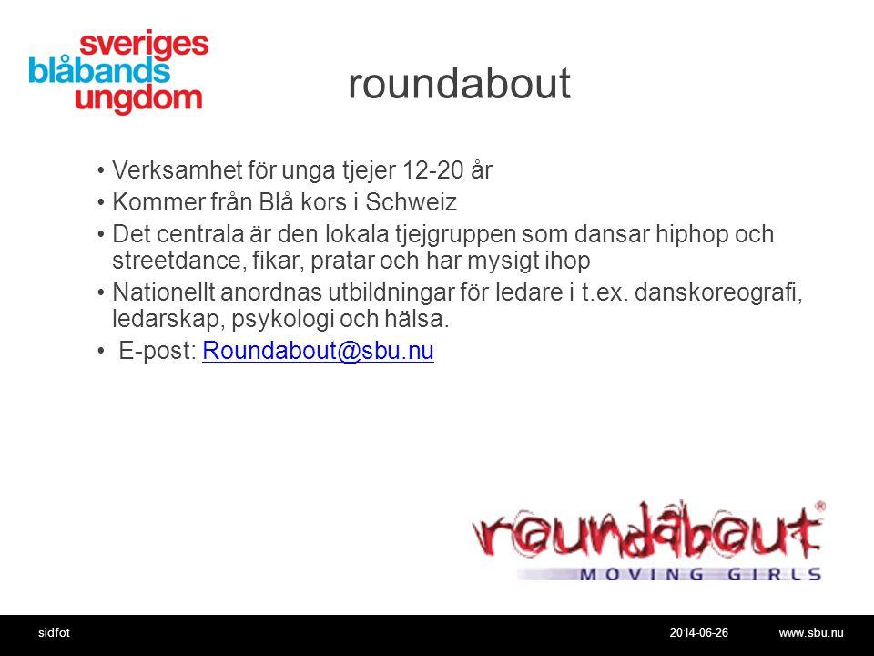 roundabout Verksamhet för unga tjejer 12-20 år