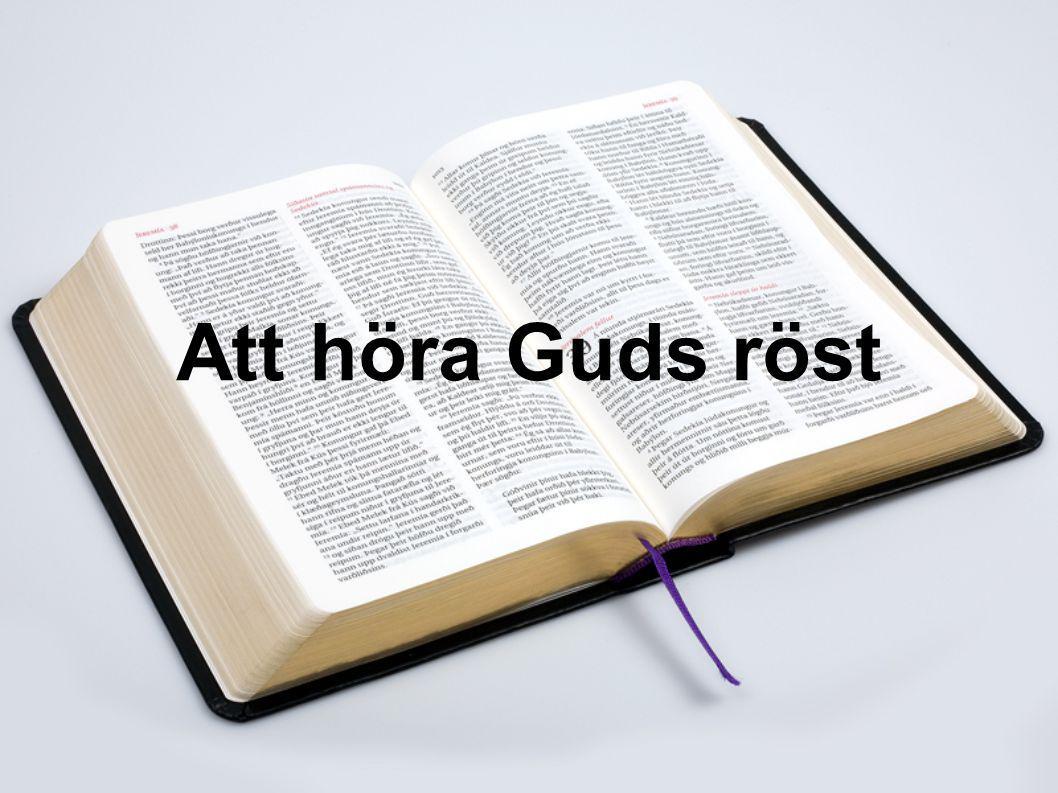 Att höra Guds röst