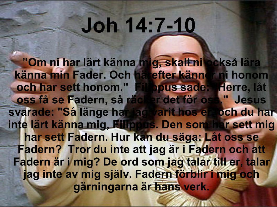 Joh 14:7-10