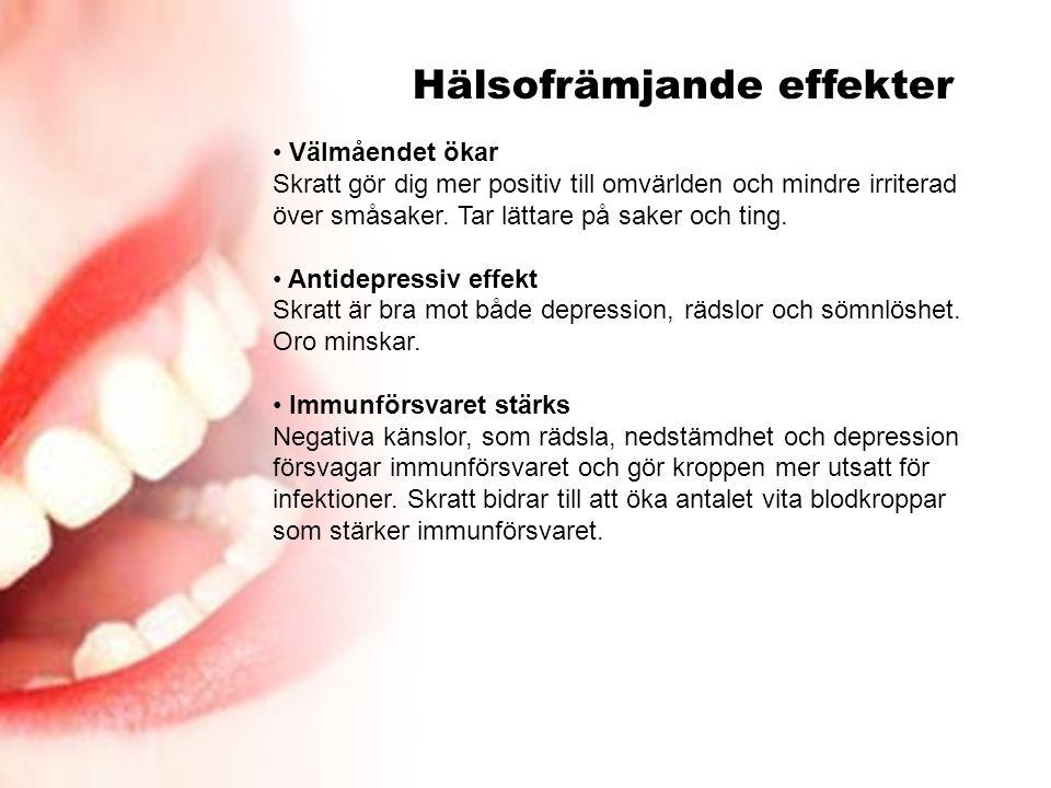 Hälsofrämjande effekter