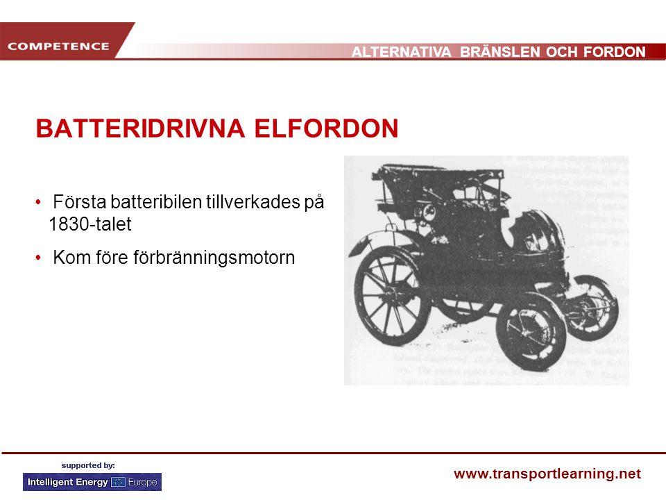 BATTERIDRIVNA ELFORDON