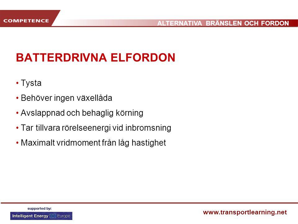 BATTERDRIVNA ELFORDON