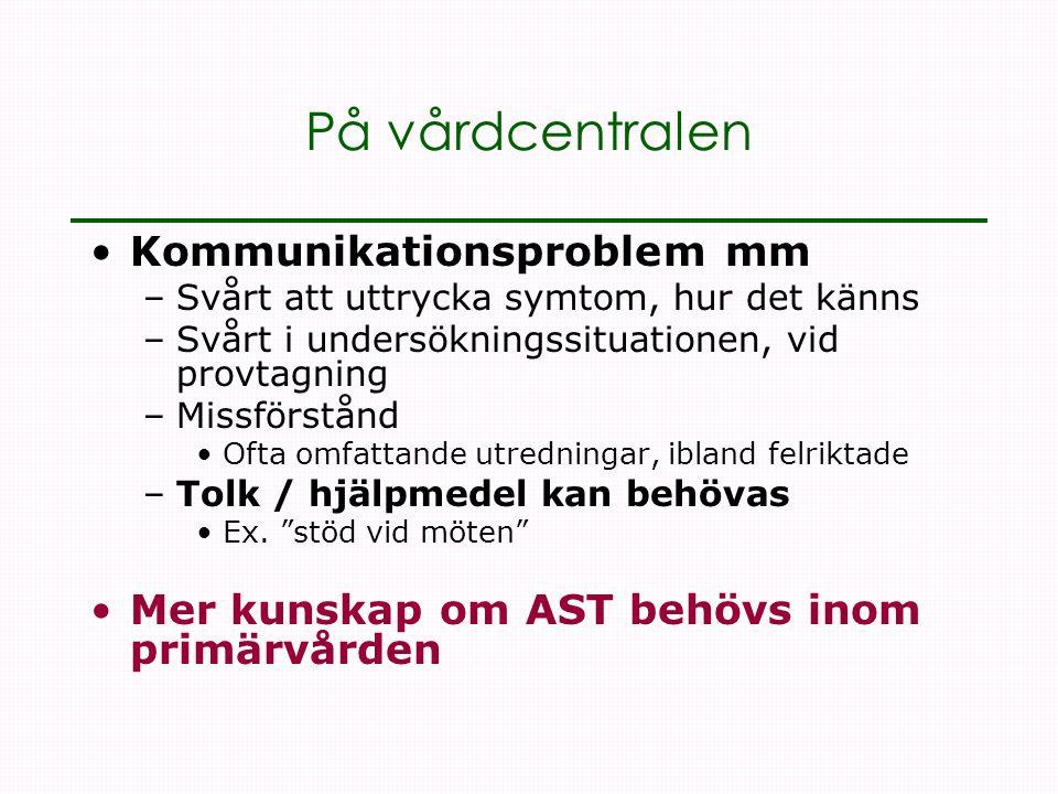 Kommunikationsproblem mm