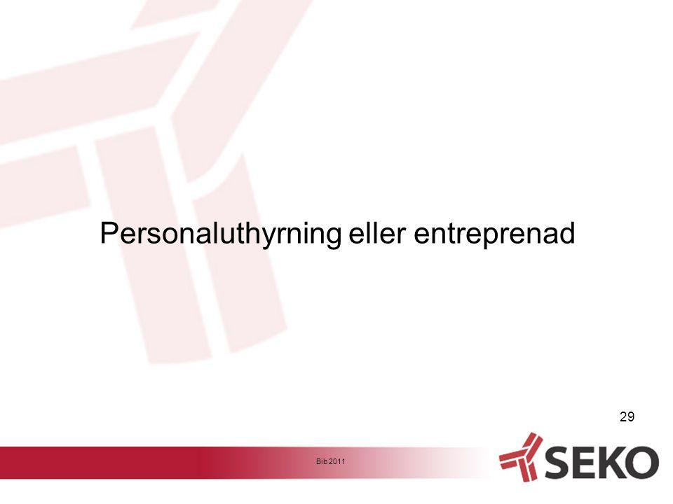 Personaluthyrning eller entreprenad