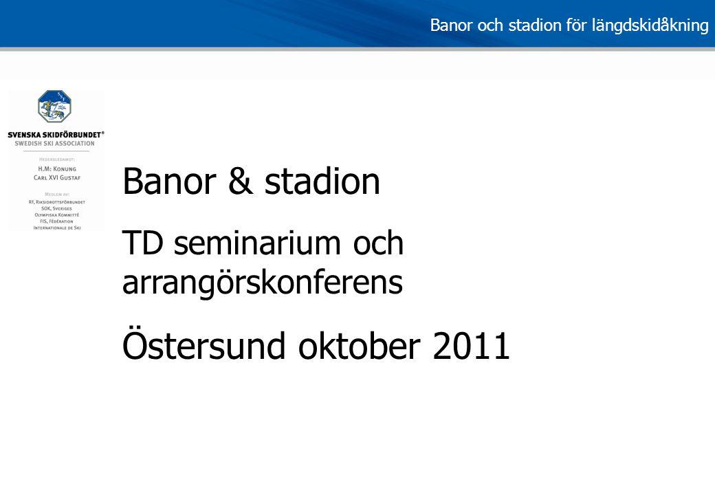 Banor & stadion Östersund oktober 2011