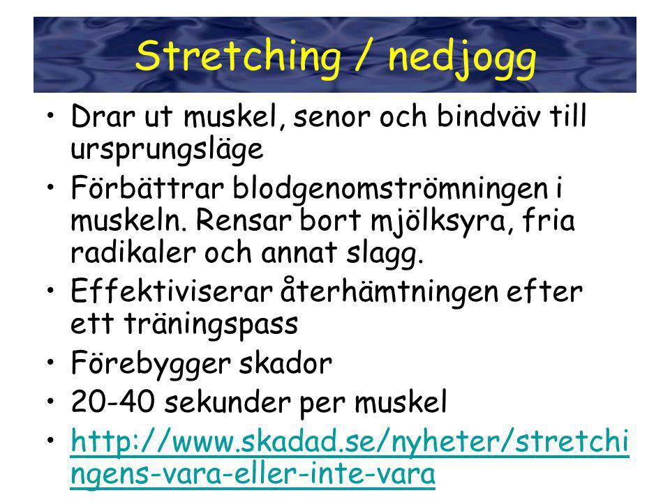 Stretching / nedjogg Stretching