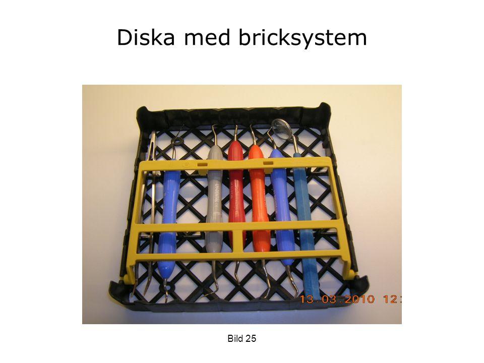 Diska med bricksystem Bild 25