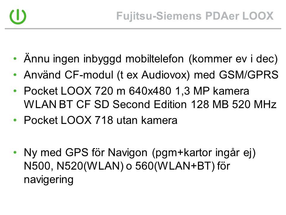 Fujitsu-Siemens PDAer LOOX