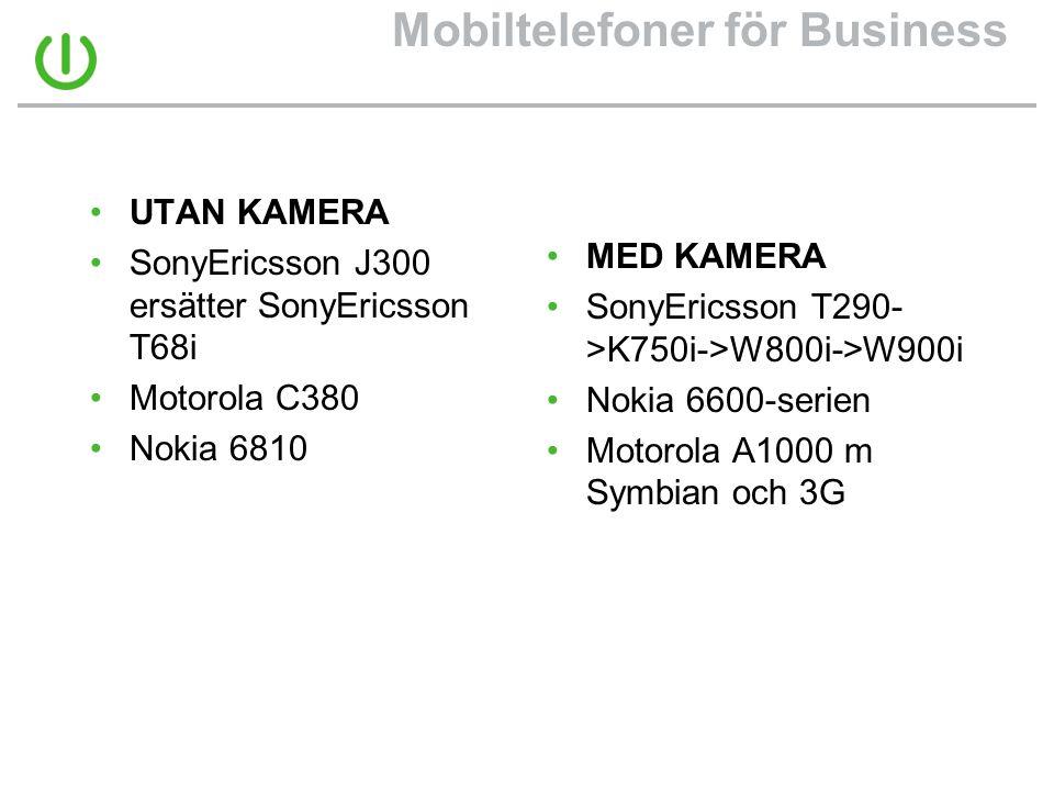 Mobiltelefoner för Business