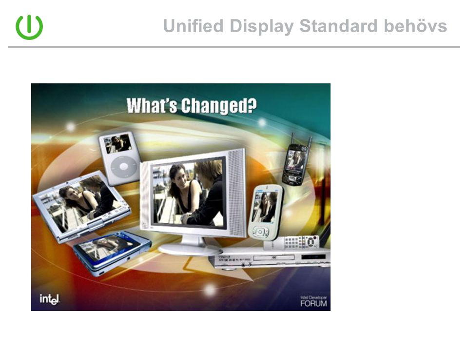 Unified Display Standard behövs