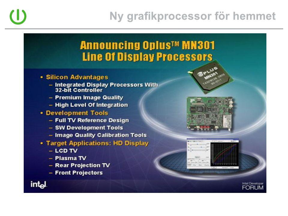 Ny grafikprocessor för hemmet