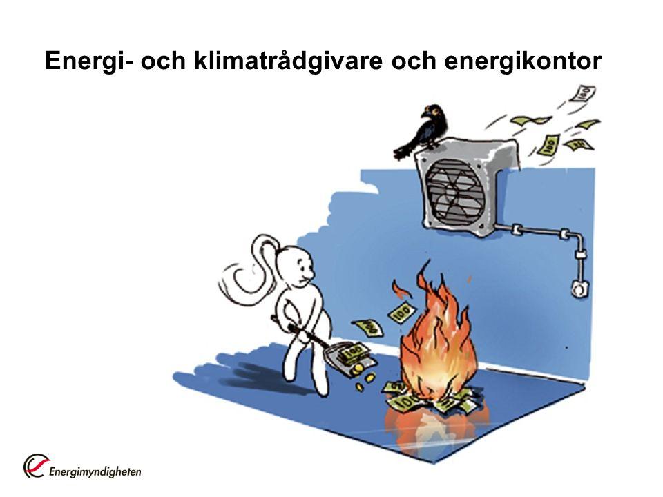 Energi- och klimatrådgivare och energikontor
