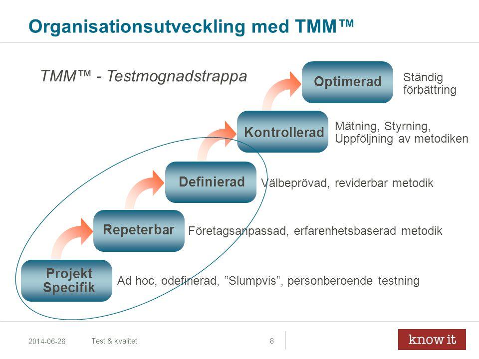 Organisationsutveckling med TMM™