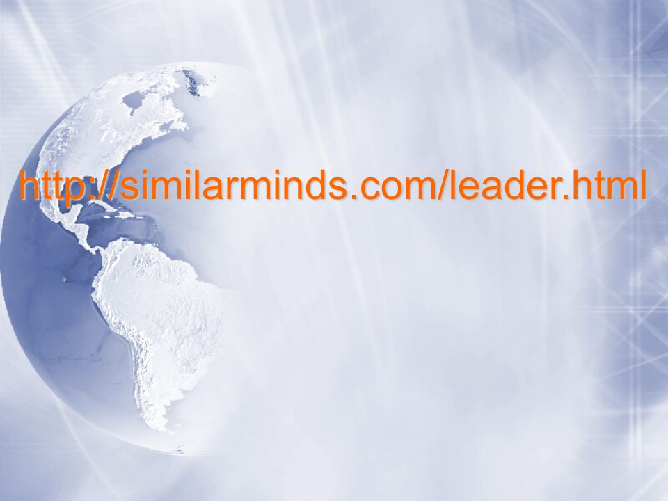 http://similarminds.com/leader.html