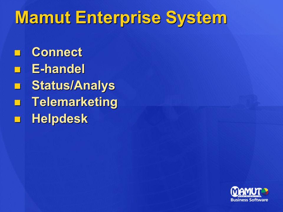 Mamut Enterprise System