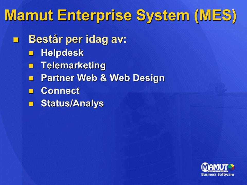Mamut Enterprise System (MES)