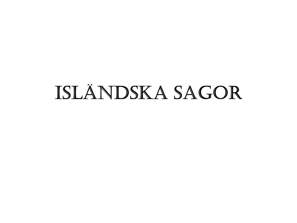 Isländska sagor