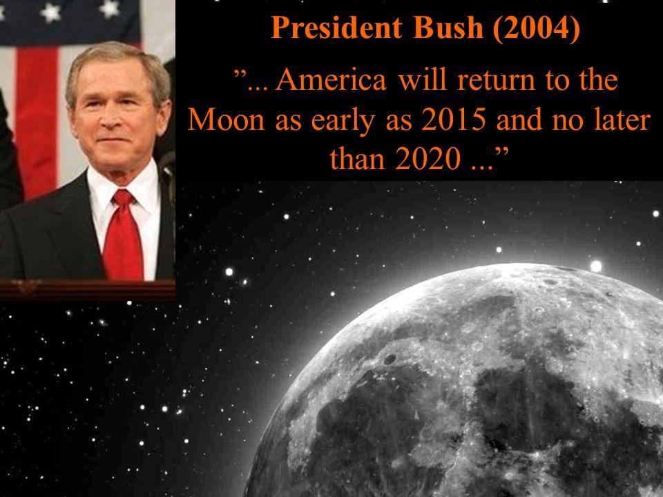 President Bush (2004) ...