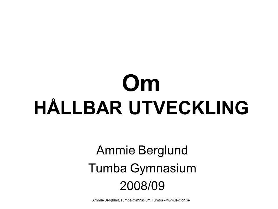 Ammie Berglund Tumba Gymnasium 2008/09
