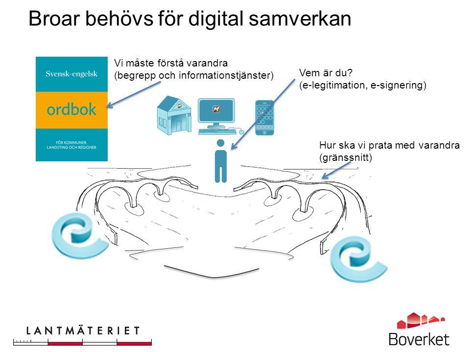 Broar behövs för digital samverkan