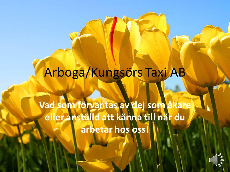Arboga/Kungsörs Taxi AB