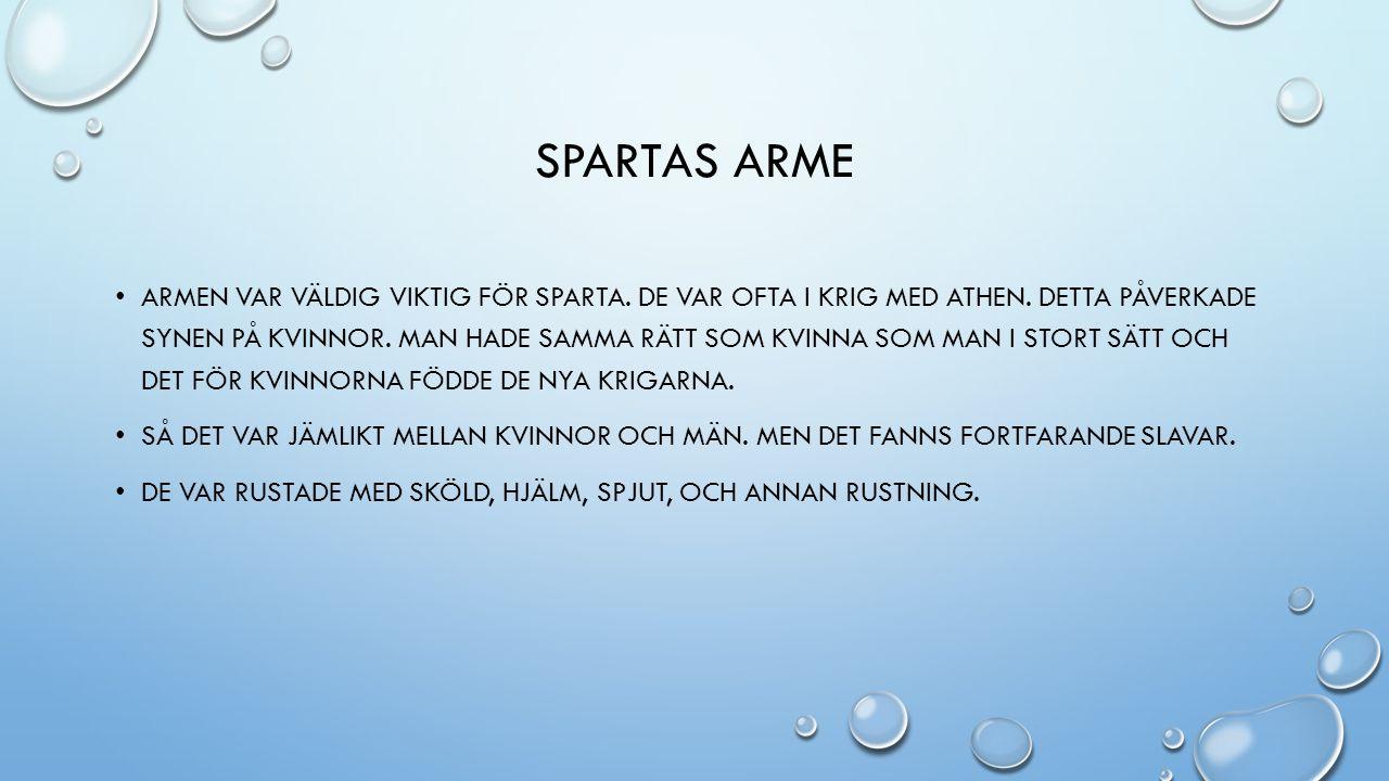 Spartas arme