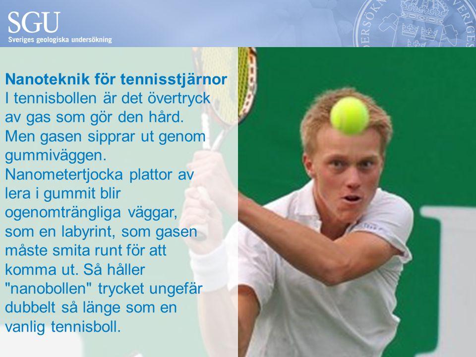 Nanoteknik för tennisstjärnor