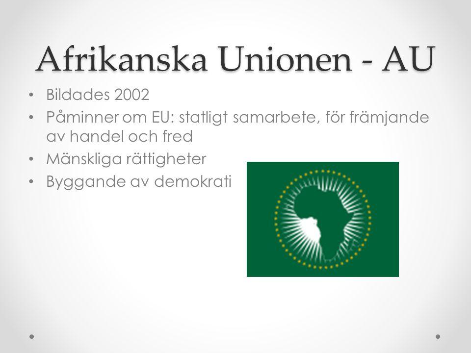 Afrikanska Unionen - AU