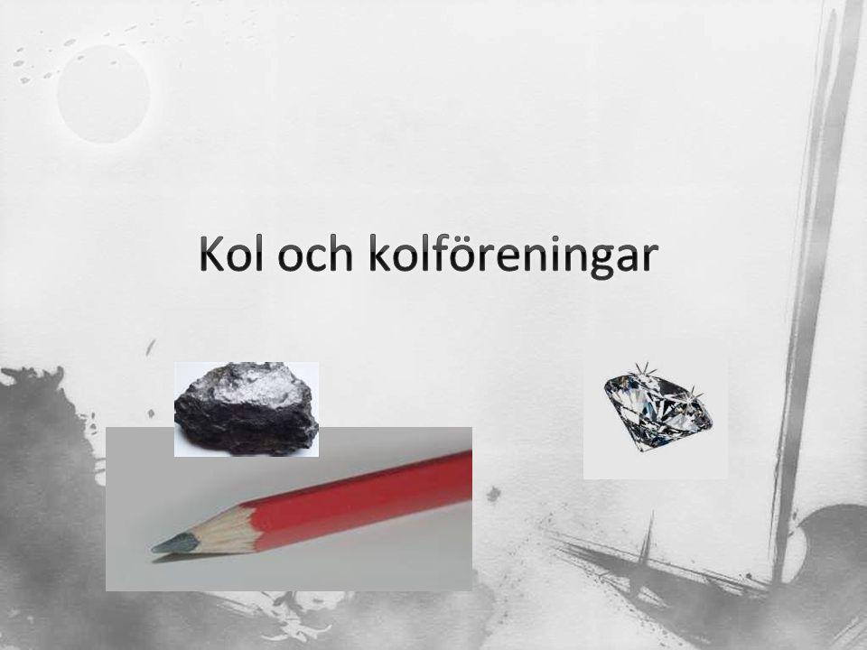 Kol och kolföreningar