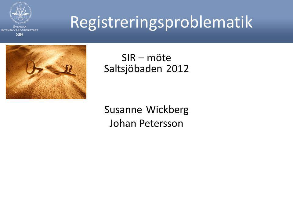 Registreringsproblematik