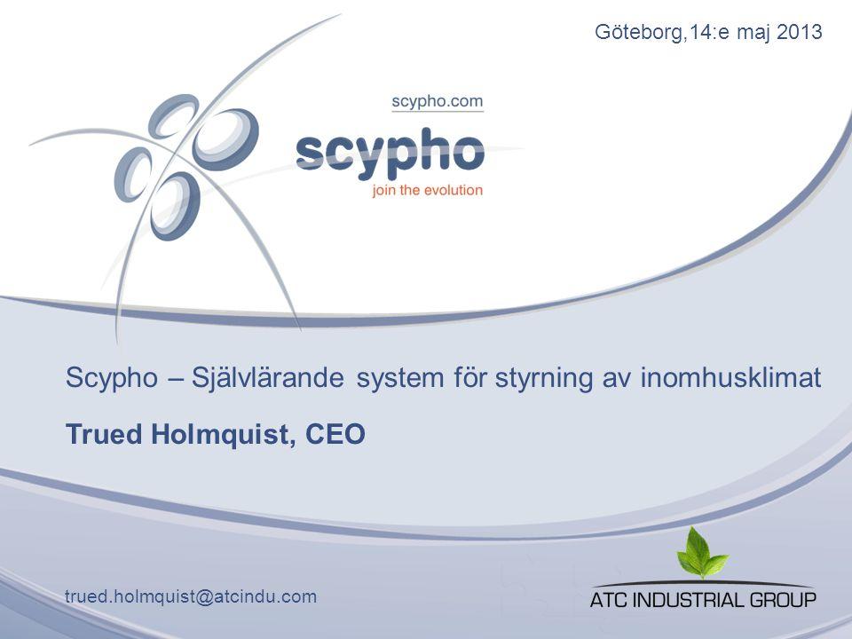 Scypho – Självlärande system för styrning av inomhusklimat