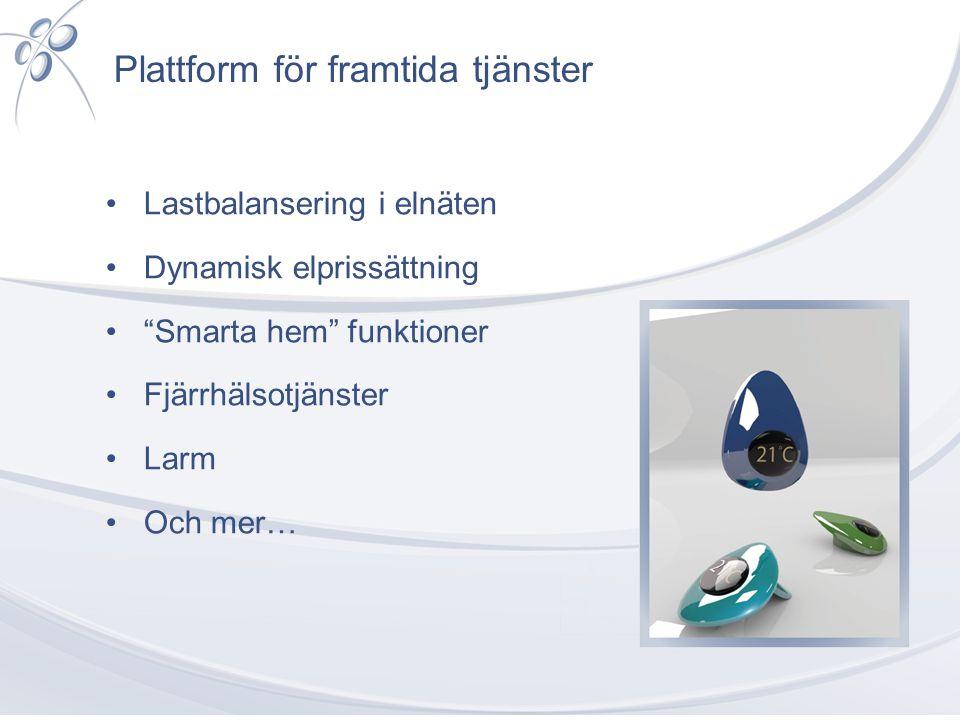 Plattform för framtida tjänster