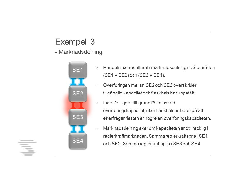 Exempel 3 - Marknadsdelning