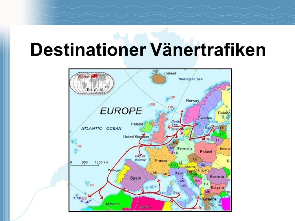 Destinationer Vänertrafiken