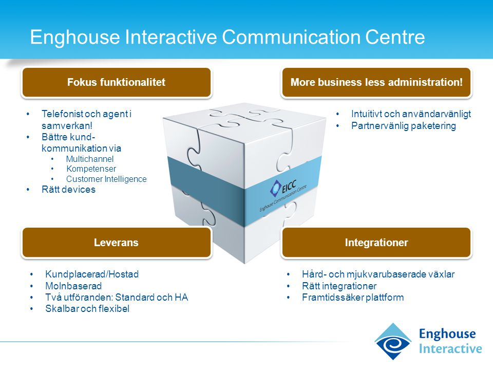 Enghouse Interactive Communication Centre