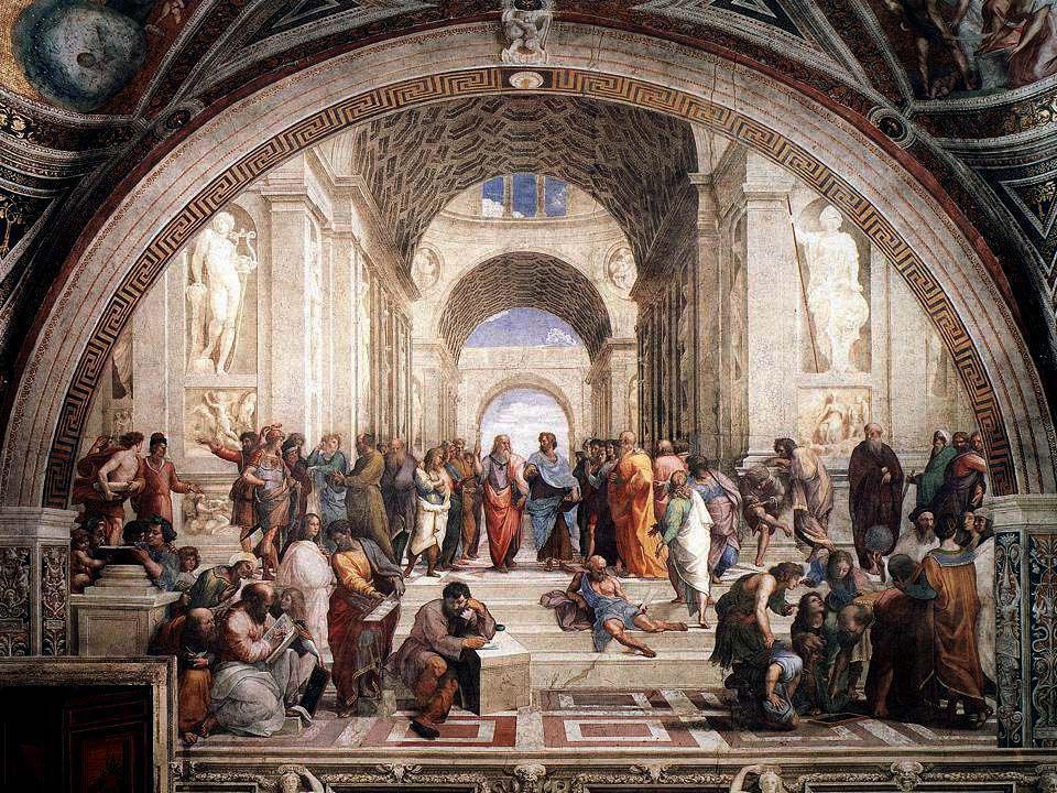 Platon 427-347 fkr. Grundade Akademin som fanns kvar i 900 år i Aten
